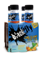 Black Fly Long Island Iced Tea Coolers (4x400 mL bottle)  - Urbery