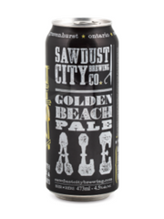 Sawdust City Golden Beach Pale Ale (473 mL can)  - Urbery