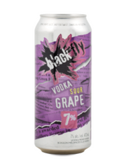 Black Fly Sour Vodka Sour Grape Coolers (473 mL can)  - Urbery