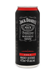 Jack Daniel's & Cola Coolers (473 mL can)  - Urbery