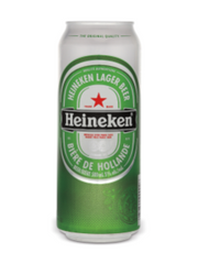 Heineken Lager (500 mL can)  - Urbery