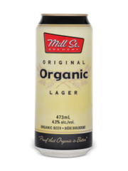 Mill Street Original Organic Lager (473 mL can)  - Urbery