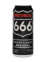 Devil's Pale Ale (473 mL can)  - Urbery