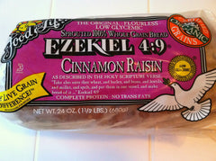 Food For Life Ezekiel Bread, Cinnamon Raisin (680g)  - Urbery