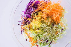 Coleslaw Mix Red Cabbage, Green Cabbage and Carrots (1 pack)