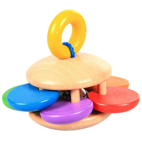Baby Bell Wooden Musical Toys Rattle