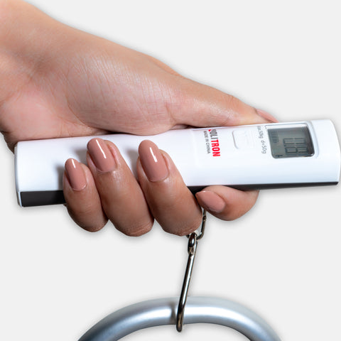 Battery free luggage scale carry up to 50 KG
