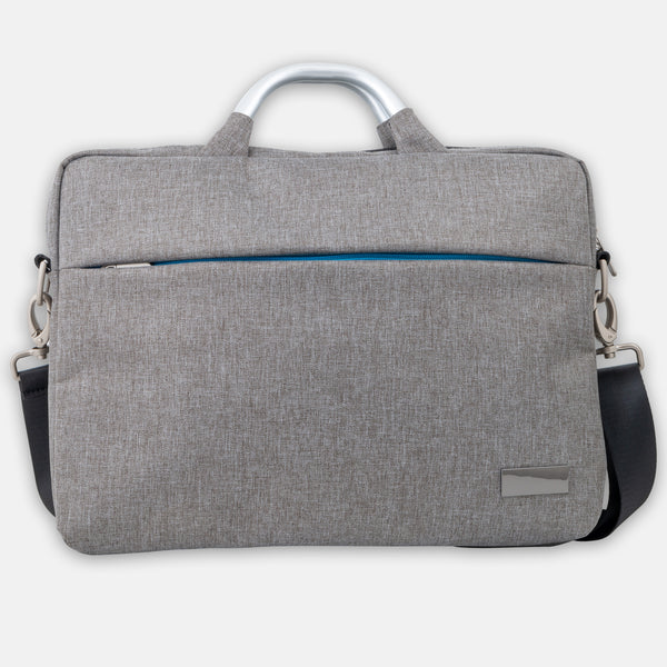 Water proof laptop bag with aluminum handle