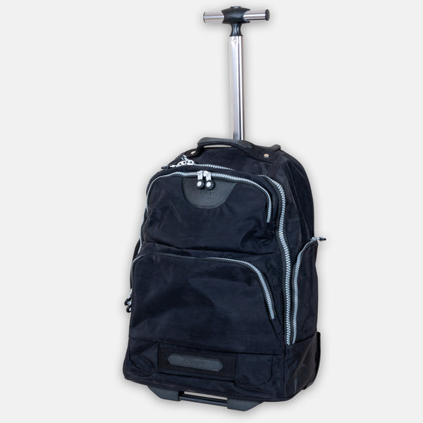 Backpack with 2 wheels trolly laptop bag.