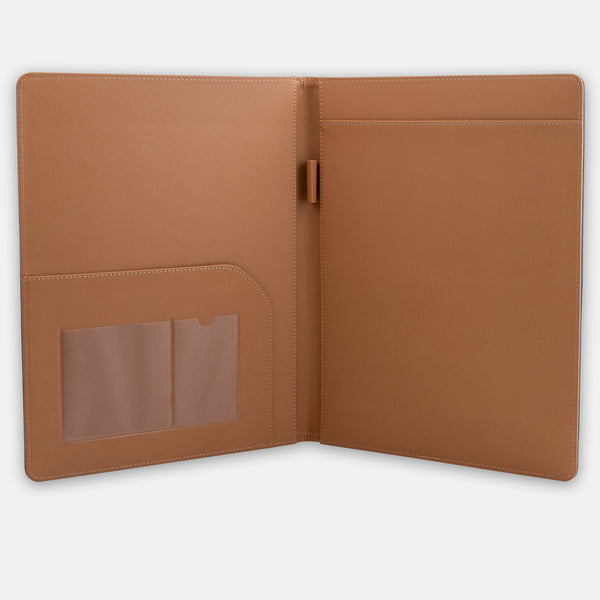 A4 Leather Meeting folder
