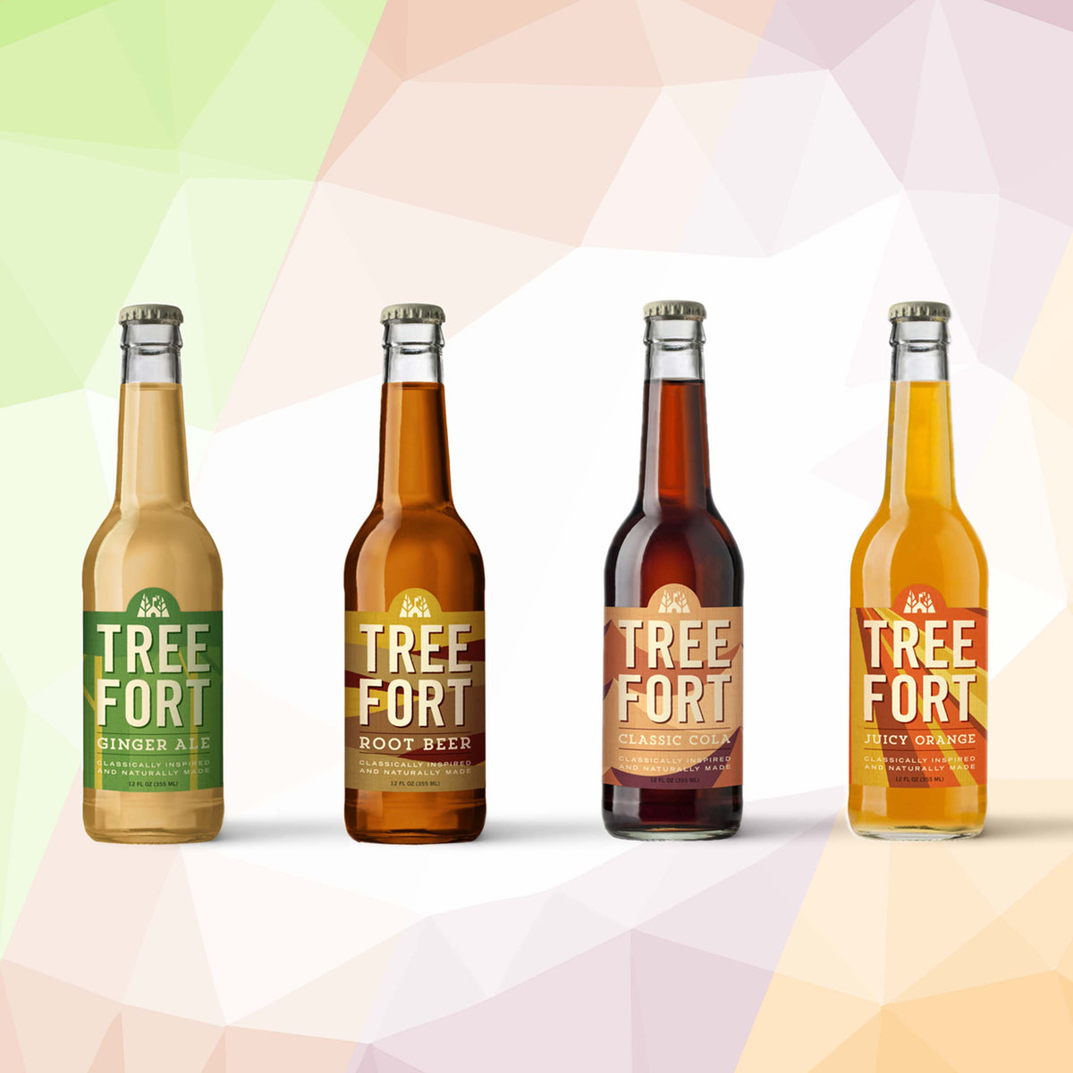 Tree Fort Soda MIXED CASE - 12 pack