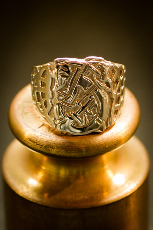 celtic St Patrick's ring