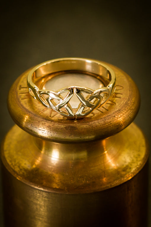 celtic trinity ring