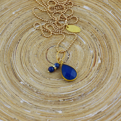 Lange ketting Brilliant Royal Blue