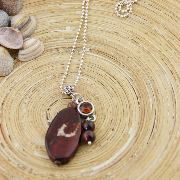 Lange ketting Chocolate Brown