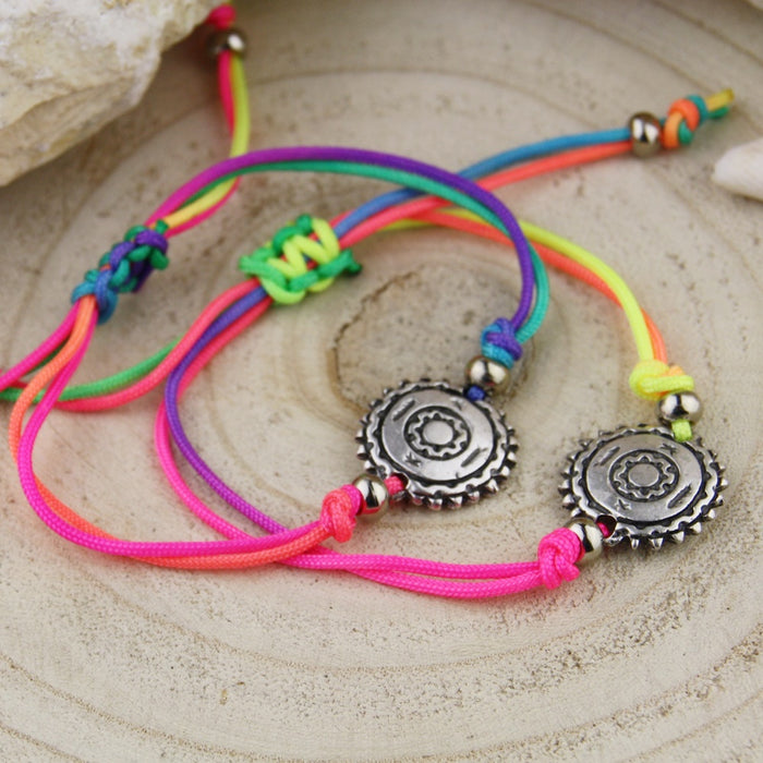Armbandje Summer Compass Rainbow