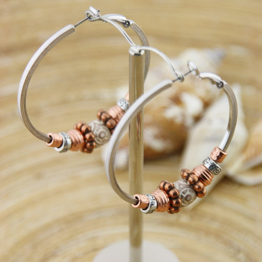 Oorringen Creolen: Square hoops