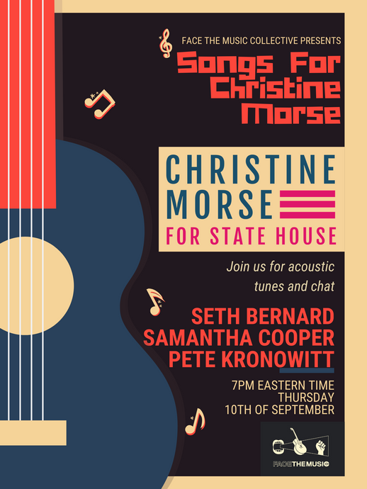 Songs For Christine Morse (H-D 61) on September 10th