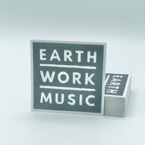Earthwork Music Sticker