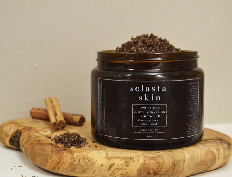LIMITED EDITION COFFEE CINNAMON SCRUB - 500G