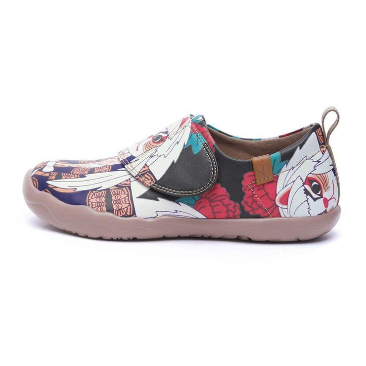 UIN Footwear Kid -Brave Pursuit- kids Art Painted Casual Shoes Canvas loafers