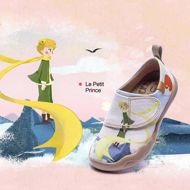 UIN Footwear Kid LE PETIT PRINCE Kid Canvas loafers