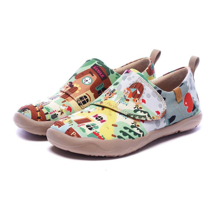 UIN Footwear Kid LE VILLAGE Kid Canvas loafers