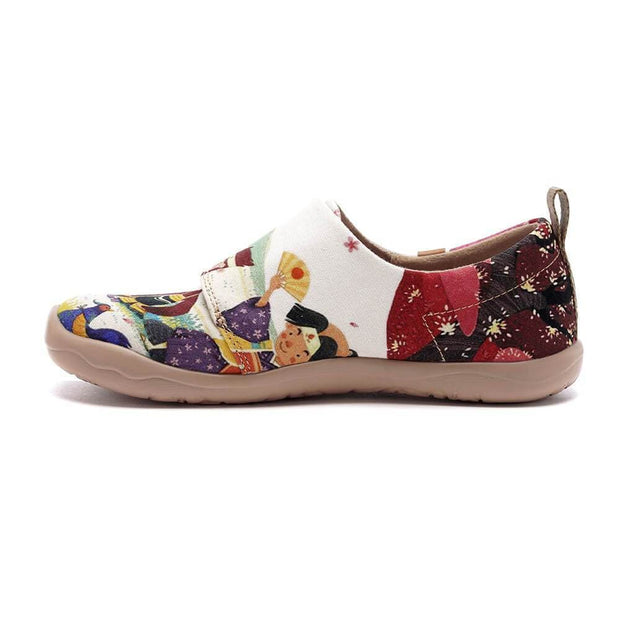 UIN Footwear Kid Rantarō's Summer Canvas loafers