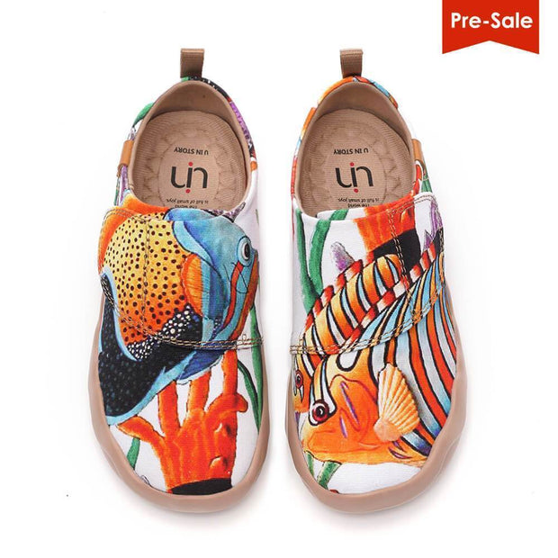 UIN Footwear Kid Shell Yeah (Pre-sale) Canvas loafers