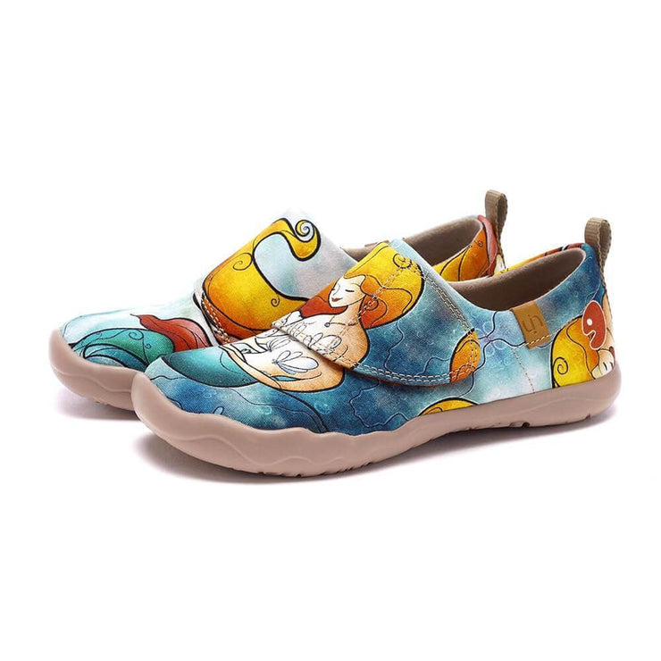 UIN Footwear Kid UNDERWATER WORLD Kid Canvas loafers
