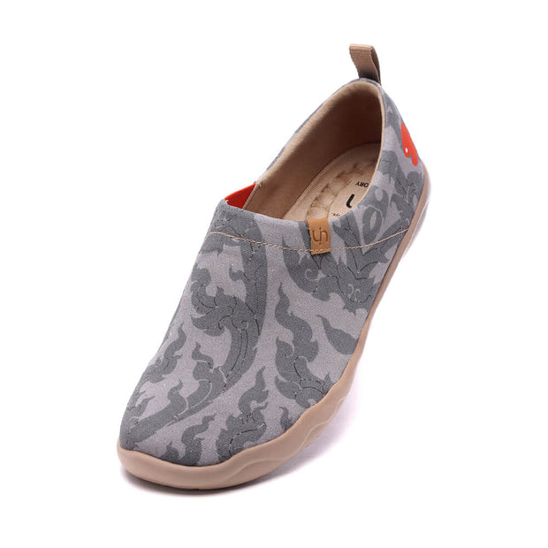 UIN Footwear Men Chang Thai Canvas loafers