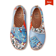 UIN Footwear Men Fly High Canvas loafers
