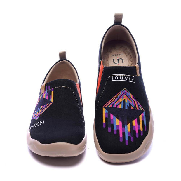 UIN Footwear Men I Louvre You Canvas loafers