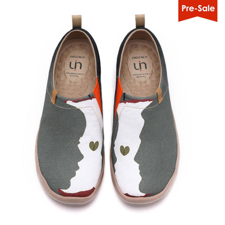 UIN Footwear Men You & Me Canvas loafers