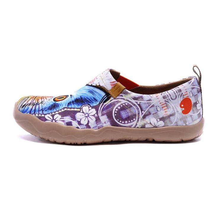 UIN Footwear Women Cheer Up Canvas loafers