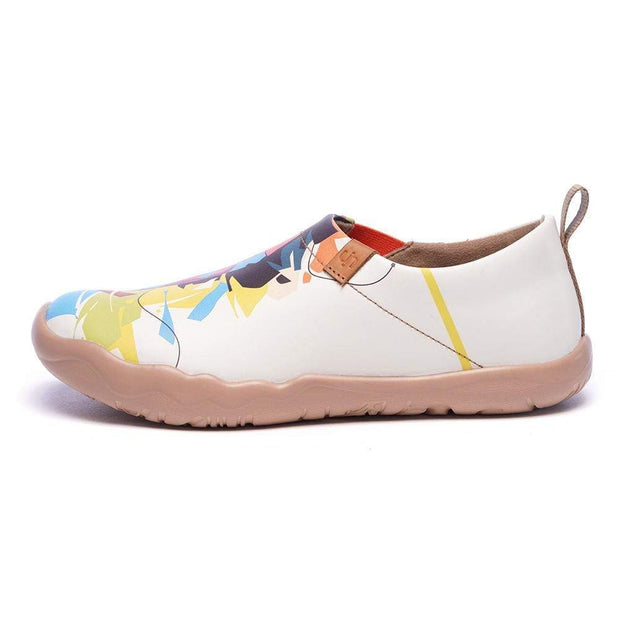 UIN Footwear Women Hello, Lion Multicolored Female Flats Canvas loafers