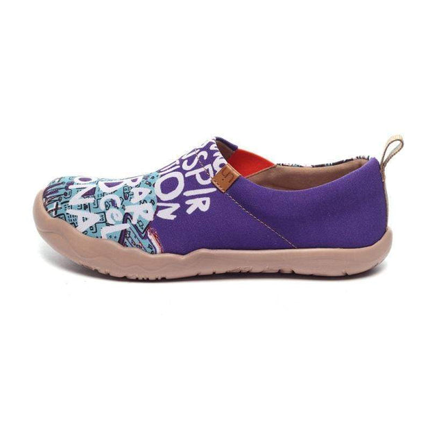 UIN Footwear Women Inspiration in Barcelona Canvas loafers