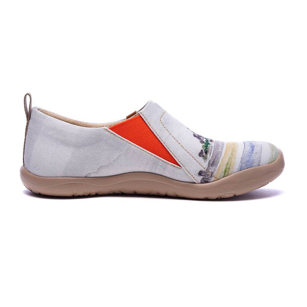 UIN Footwear Women Mont Saint-Michel Canvas loafers