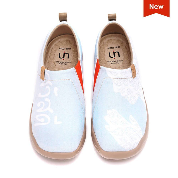 UIN Footwear Women Thai Smile II Canvas loafers