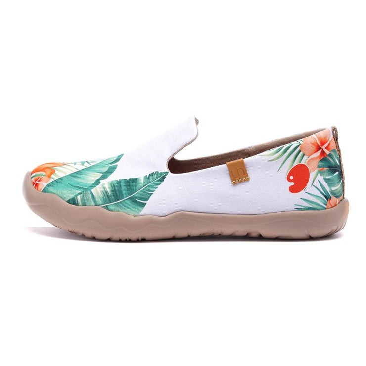 UIN Footwear Women Tropical Vibe Canvas loafers