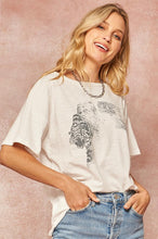 Load image into Gallery viewer, Get Em Tiger Vintage Slub-Knit Graphic Tee