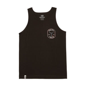 Salty Crew Fishstone Tank Top-Black