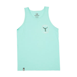 Salty Crew Fishstone Tank Top-Seafoam