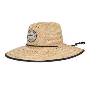 Salty Crew Bruce Straw Hat Men's One Size-Black