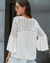Load image into Gallery viewer, Crochet Blouse tops