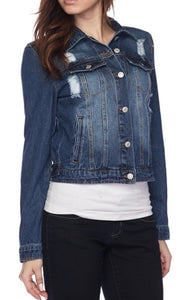Love Tree Denim Jacket
