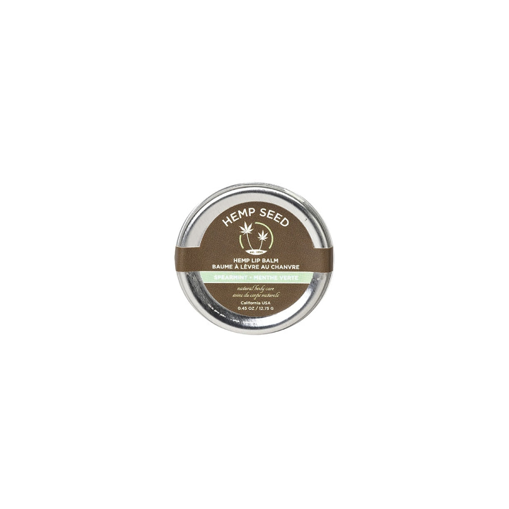 Hemp Seed Lip Balm - Spearment
