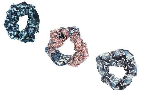 Lotus and Luna Scrunchies