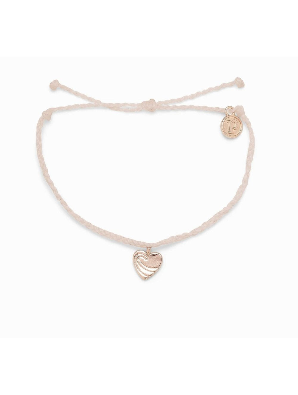 Pura  Vida Surf Love  Rose Gold