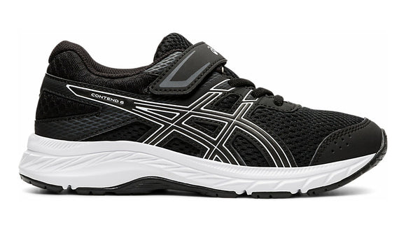 ASICS CONTEND 6  PS Black/White